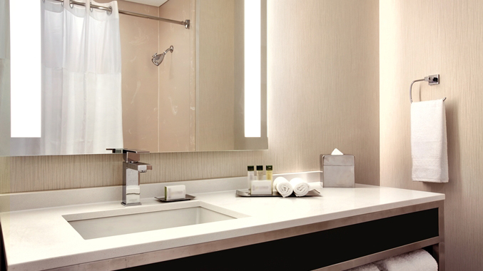 Study Finds That Bathroom Sink Is The Dirtiest Part of Hotel Room