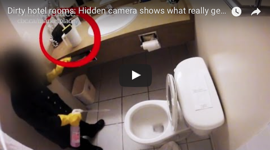 Hidden Camera In Hotel Reveals Shocking Truth